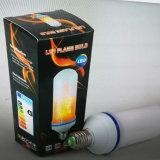 2017 ampoule de clignotement d'effet de flamme d'E27 5W DEL pour la barre de café
