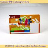 Cartão de ginásio feitas com tarja magnética de PVC para os