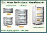 HandelsEdelstahl-Lebesmittelanschaffung-Geräten-Gas-Backen-Ofen