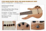 Fret электрической гитары 24 басового Ukulele Aiersi левша басовый