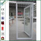 販売のためのドイツのVeka UPVCの白い開き窓の振動ドアデザイン