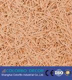 Écran antibruit favorable à l'environnement de copeaux de bois