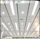 Azulejos de aluminio del techo para la decoración interior del metro