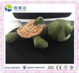 물 동물성 엄마 및 아이 거북에 의하여 채워지는 견면 벨벳 장난감