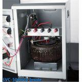 熱い販売20kVAのサーボモータータイプ電圧安定装置の調整装置の床の組置き活字