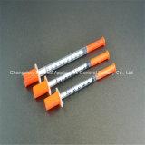 Siringa a gettare di vendita diretta dell'insulina 0.5ml di Lelun della fabbrica migliore