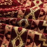 ジャカードシュニールの家具製造販売業のアラビアファブリックおよび織物のオンラインソファーカバー