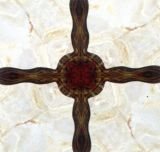 Плитки квадратного Inkjet решетки керамические