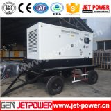 генератор 65kw Shangchai передвижной тепловозный с электрическим генератором трейлера 80kVA
