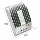 Regulador solar 4215bn del cargador de la autorización de MPPT Epsolar 40A 12V/24V 2-Years