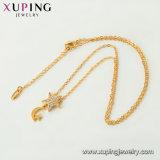 44788 Form-heiße Verkaufs-Tobago-Entwurfs-Schmucksache-Halskette Farbe in der Gold24k