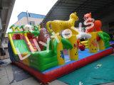 Tierische aufblasbare Vergnügungspark-Spaß-Stadt