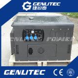 Luft 10kVA kühlte den 2 Zylinder-super leisen beweglichen Dieselgenerator ab