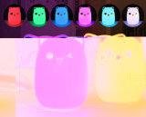 Lampshade feito sob encomenda do silicone da tampa das luzes de /LED da tampa da lâmpada de tabela do silicone dos desenhos animados de FDA/Certification (XY-LA-3)
