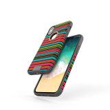 Крышка телефона TPU с тканью на iPhone x