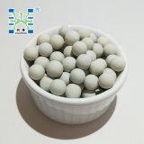 17 a 23% de bolas de cerámica de alúmina inertes como el apoyo catalizador