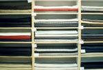 輸入された織物材料