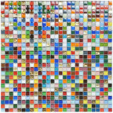 Mattonelle di mosaico di cristallo di vetro di mosaico della pavimentazione della piscina