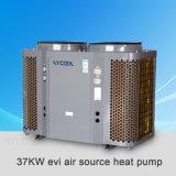 Calefator de água Evi da bomba de calor para o aquecimento do tanque de aquecimento de assoalho, de condicionamento de ar e de água, calefator de água L da bomba de calor da fonte de ar de Evi