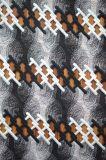 優雅な刺繍パターンが付いている新式のポリエステルレースファブリック