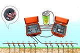 Exploración geológica, sistema multi-electrodo de la encuesta sobre la resistencia del detector del agua subterránea