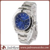 Moda Hombre moderno de cuarzo analógico reloj de pulsera, reloj de cuarzo resistente al agua