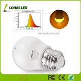 lampadina equivalente di notte della lampadina 25W LED dell'errore di programma giallo di 3W E26 G14 LED per sonno del bambino