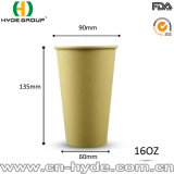 Biodegradable Bamboo has a temperature to Pulp Coffee Cup/PAPER Coffee Cup