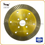 Venta caliente 114mm Turbo hojas de sierra de diamante de corte de Granito