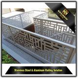 Innendekoration-Edelstahl-Treppenhaus-Geländer für einfache Art