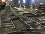 Fabricación de la barandilla del metal de los miembros de estructura de acero por modificado para requisitos particulares