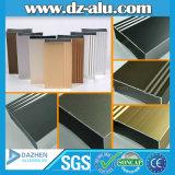 Profilo di alluminio/di alluminio dell'espulsione per grano di legno