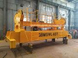20 FT &40FT automático do sistema hidráulico do espalhador telescópico para os contentores de transporte