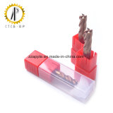 Taglierina solida del laminatoio di estremità del carburo per lavorare del metallo