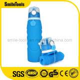 1000ml BPA освобождают складную бутылку воды спортов силикона