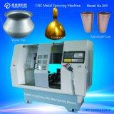 Automatische Aluminiumspinnmaschine-Fabrik für Cookware-Geräte (Feuergebühren350a-16)