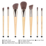 Bamboo комплект щетки состава ручки 7PCS с мешком мешка PU
