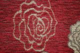 Tela roja del sofá del telar jacquar del Chenille del item del telar jacquar