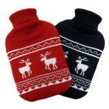 4季節のより暖かい個人的のためのKneededカバーが付いているゴム製熱湯袋