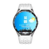 Kw88 Slim Horloge 1.39 van de Duim Mtk6580 van de Vierling Androïde 5.1 3G WiFi GPS van de Kern 1.3GHz Slim Horloge 400mAh 2.0 de MegaMonitor van het Tarief van het Hart van het Pixel