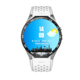 Kw88 Reloj inteligente 1,39 pulgadas Mtk6580 Quad Core 1.3GHz Android 5.1 WiFi GPS 3G Reloj inteligente 400mAh 2.0 Mega píxeles de Monitor de Ritmo Cardíaco
