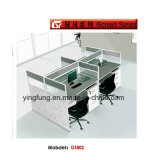 أثاث لازم حديثة خشبيّة تضمينيّة مكتب مركز عمل مكتب [يف-غ0302]