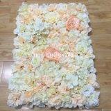 Шампанское шелк Hydrangea и роз цветы на стену для проведения свадеб оформление
