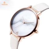 Relógio de senhoras feito sob encomenda 71334 do aço inoxidável da jóia do OEM do relógio de forma