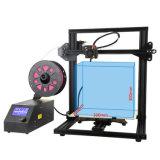 FDM impresora 3D Mini kit de bricolaje la impresión de escritorio de la máquina de impresión con 200g de PLA filamentos y foco