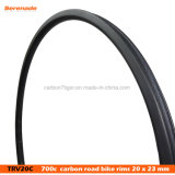7-Tiger Clincher 20 мм 700c углерода Rim Road велосипед ободов 23мм ширина обода Clincher велосипедов