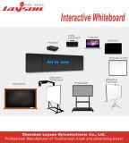 65インチのOPSのパソコンの組み込みの対話型のタッチスクリーンのキオスクが付いている対話型のWhiteboard LCDの表示