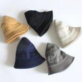 Promoción de la tapa de pesca personalizadas tapón de algodón de alta calidad de la cuchara sombrero con logotipo bordado