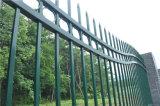아름다운 파 상단 안전 정원에 의하여 직류 전기를 통하는 강철 담 90