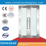 Fuego las puertas de vidrio con bajo valor Uw, UF Ug